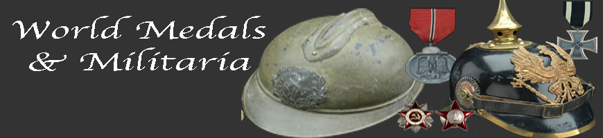 World Medals and Militaria